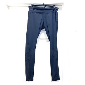 ZELLA Nordstrom Gray Mesh Inset Pocket Leggings L
